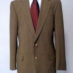 GUCCI MENS BROWN SPORTS STUNNING JACKET SIZE 46R